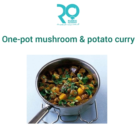 تصویر دسته بندی One-pot mushroom & potato curry